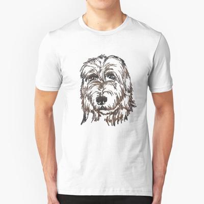 3D Printed T-Shirts Afghan Hound Breed Puppy and Kisses Short Sleeve Tops Tees