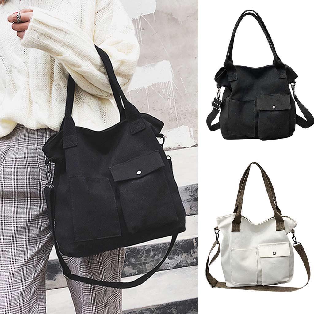 Твердых мягкие случайные Totel сумка унисекс холст Messenger сумка сумка сумка – купить по низким ценам в интернет-магазине Joom