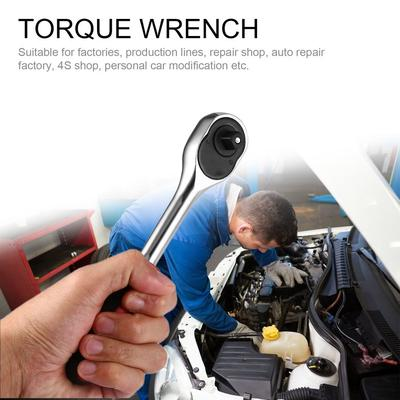 24 Teeth 1//2 3//8 1//4 Handle Drive Socket Ratchet Wrench Spanner Quick Release