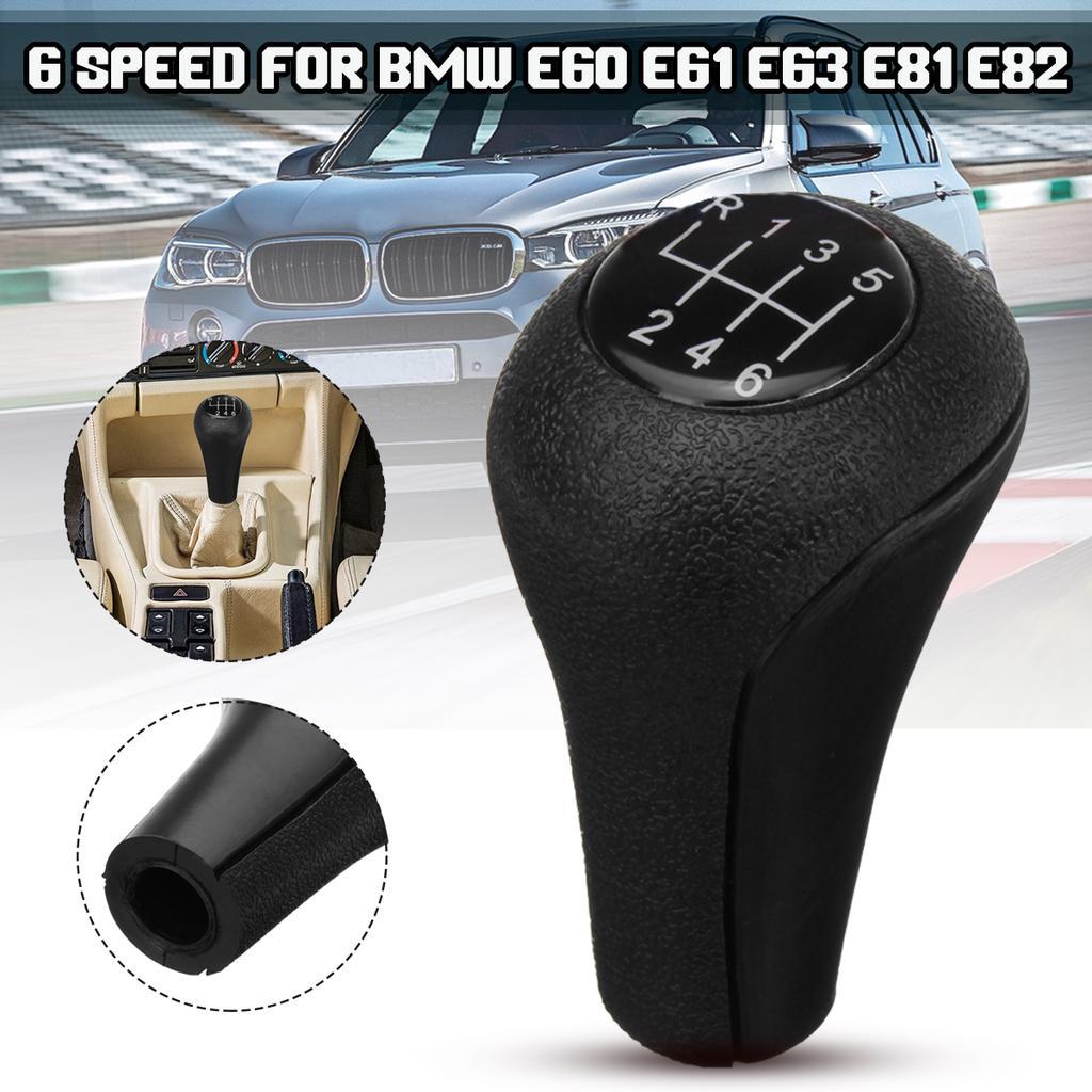 Manual Gear Shift Knob Gear Shifter Stick Head Lever for B M W 1 3 5 7 Series E81 E82 E87 E90 E91 E92 E60 E61 E63 E84 E53 E28 E30 E34 E36 5 speed