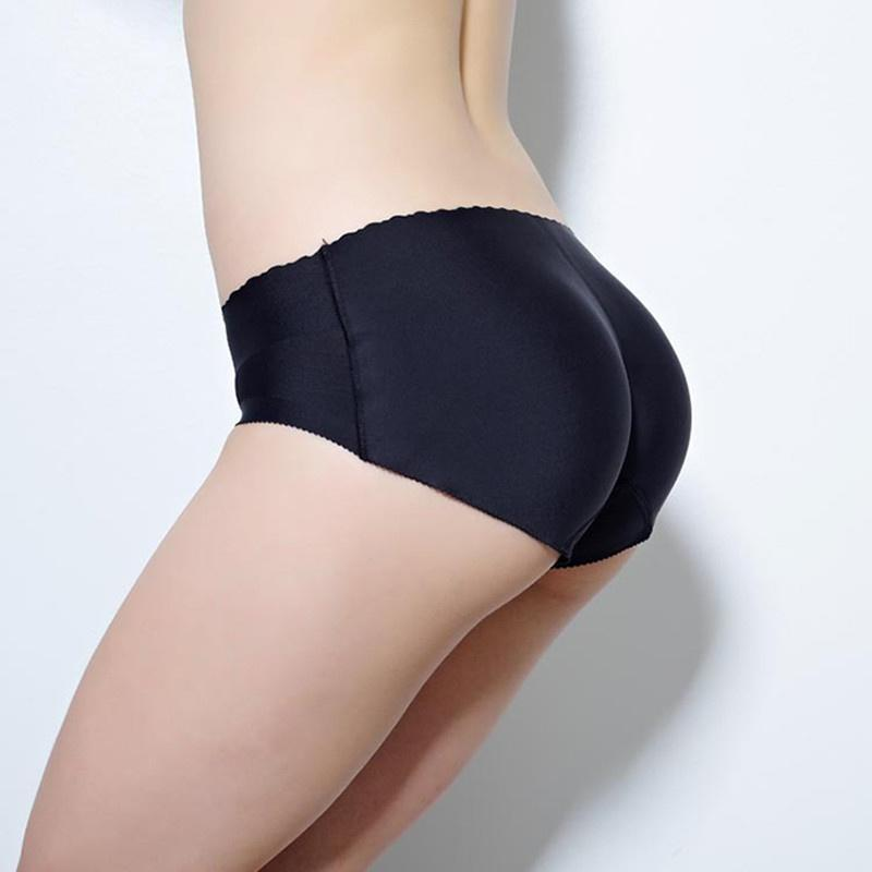 eb6bf7a46 Sexy Booty Padded Seamless Butt Hip Enhancer Bottom Underwear Bum Shaper  Panties-buy at a low prices on Joom e-commerce platform