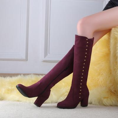 Коліно жінок-чоботи черевики жіночі мотоцикл чоботи взуття дівчини моди  чоботи довгий Чоботи зимові ba8abc2931f8c