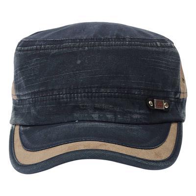 58f8a4f69cb Hat Cap Casual Cap Cowboy Hat Men Flat-Top Cotton Hat Adjustable Baseball  Cap Outdooradjustable