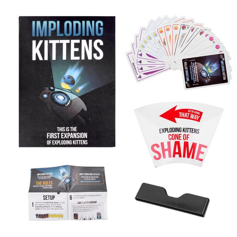 Fun Table Card Imploding Exploding Kittens Card Family Gathering Game Gift Buy At A Low Prices On Joom E Commerce Platform