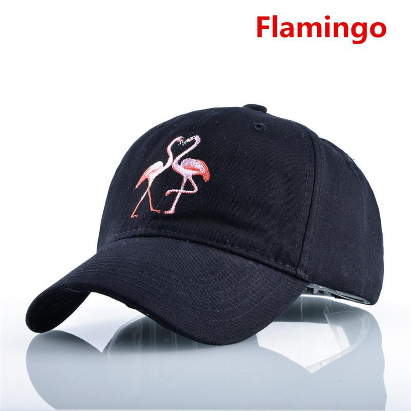 Snapback Hats for Men /& Women Flamingo I Dont Give a Flock Embroidery Black