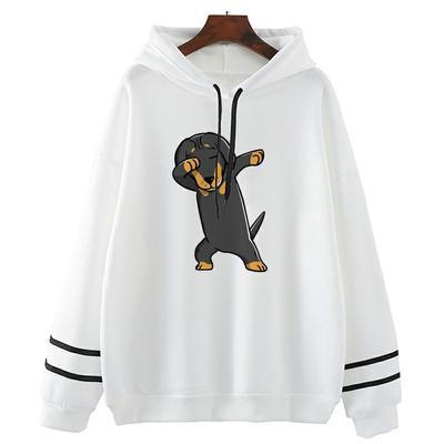 Funny Dachshund Love Dachshund Dog Gift Unisex Baseball Jacket Uniform Sweater Coat Sweatshirt