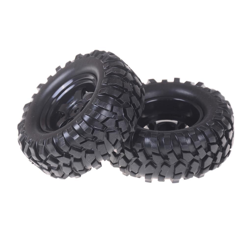 "2pcs//lot 1.9/"" Tires 96mm Wheel 12mm Hex Hub For RC 1:10 Rock Climbing Crawler/_ti"