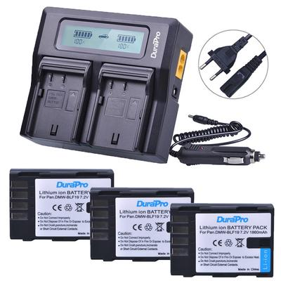 DMW BCM13E Dual LCD Battery Charger High Low Modes for Panasonic Lumix Cameras