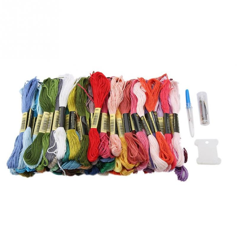 Lots 35//200 Color Cotton Cross Floss Stitch Thread Embroidery Sewing Skeins Hand
