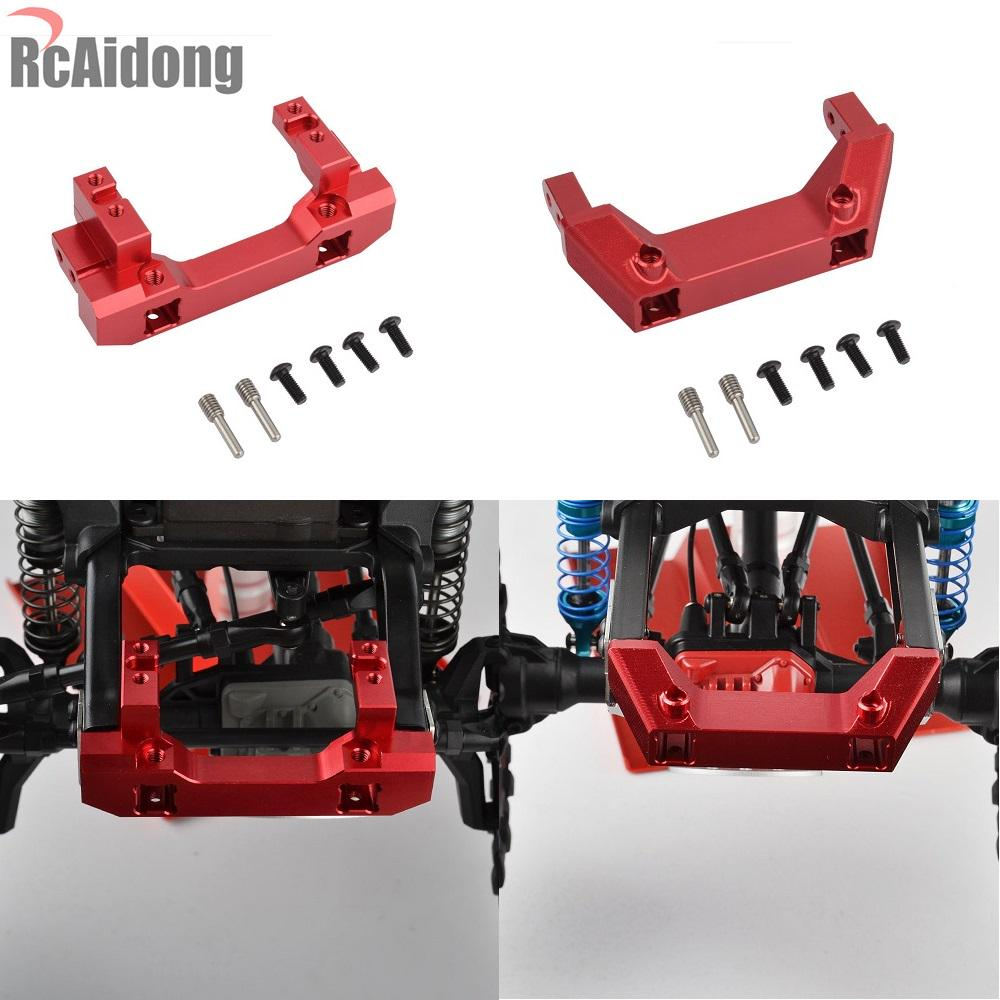 1PCS 1//10 RC Alloy Front Servo Stand and Rear Bumper Mount for 1:10 RC Crawler TRX4 Traxxas TRX-4 Car Front Servo Stand