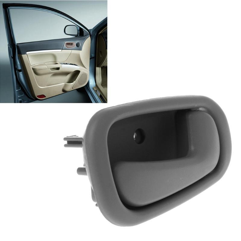 2Pcs set Door Handles for 98-02 Toyota Corolla Grey Interior Right /& Left Hand