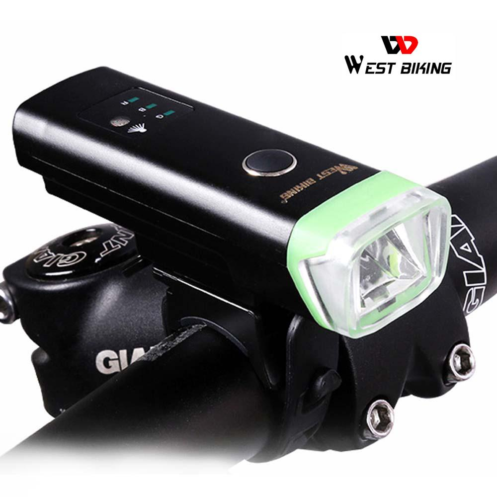 Waterproof LED Bicycle Headlight USB Rechargeable Bike Front Lamp Light Torch