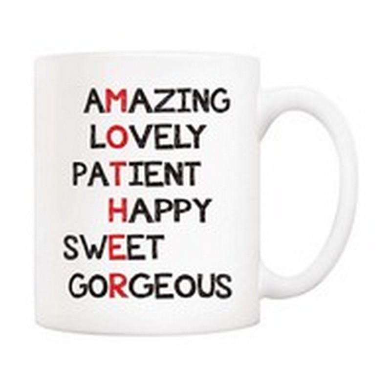 Funny Mother birthday gift joke from Son the luckiest MOM Details about  /Mother/'s day mug