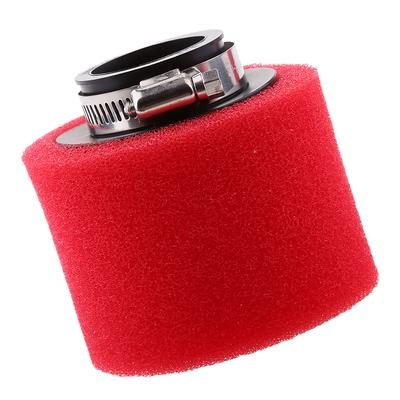 Mini Cone Cold Air Intake Filter Breather 50mm with Hose Clamp Universal for OE PCV Systems