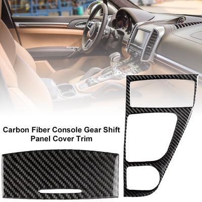 Shift Gear Rahmenabdeckung Aluminiumlegierung Zubeh/ör Trim Shift Gear Frame rote Abdeckung Gangschaltung Box Cover Rahmen Dekor f/ür Mustang 2015-2017