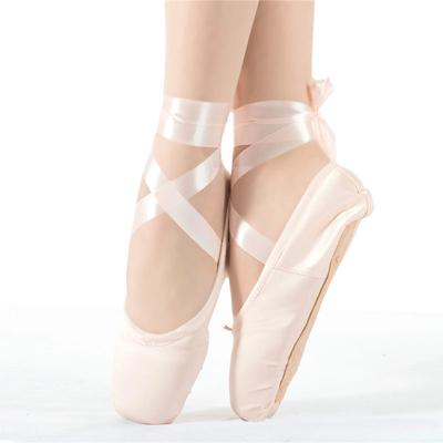 Pink Ballet Pointe Dance Toe Shoes Professional Satin Canvas Shoes Ladies Buy At A Low Prices On Joom E Commerce Platform