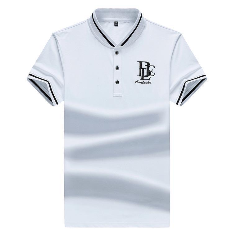 d2cf9e220 Camisa de los hombres camisa de verano negocios delgado color joven casual  camisa de manga corta camiseta de los hombres
