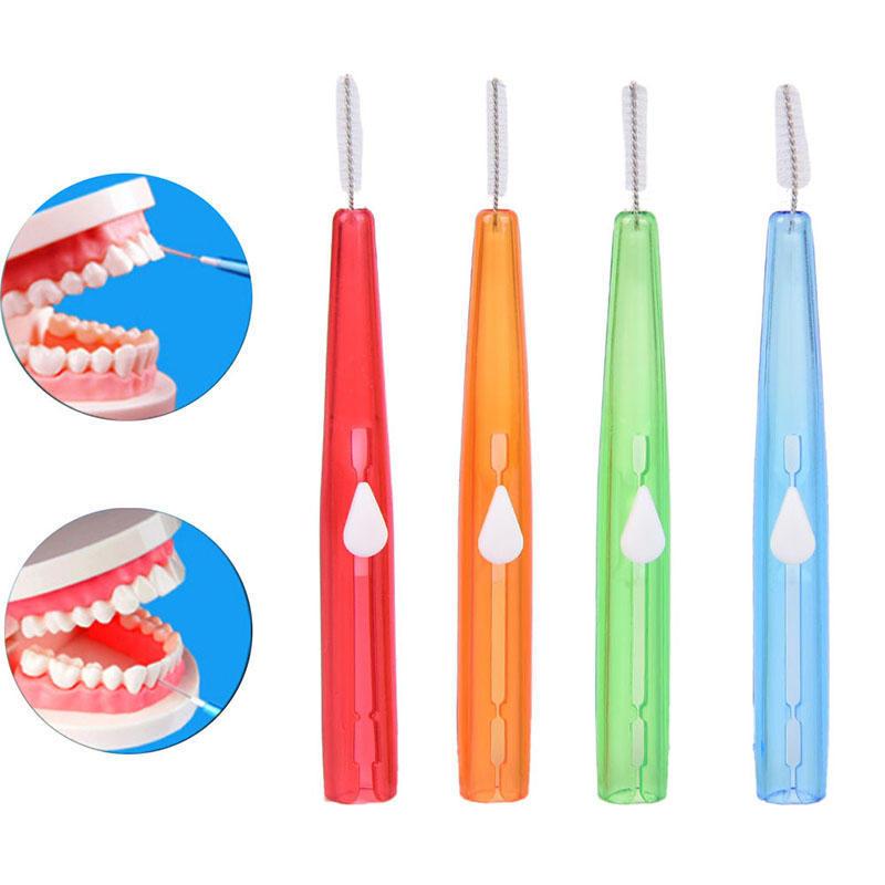 1 Pc 25 M Dental Hygiene Zahnseide Reinigung Zahn Interdentalbürste Zahnseide Stick Zahnstocher Zähne Pinsel Kunststoff Draht Mundpflege Werkzeug Dental Flosser Schönheit & Gesundheit