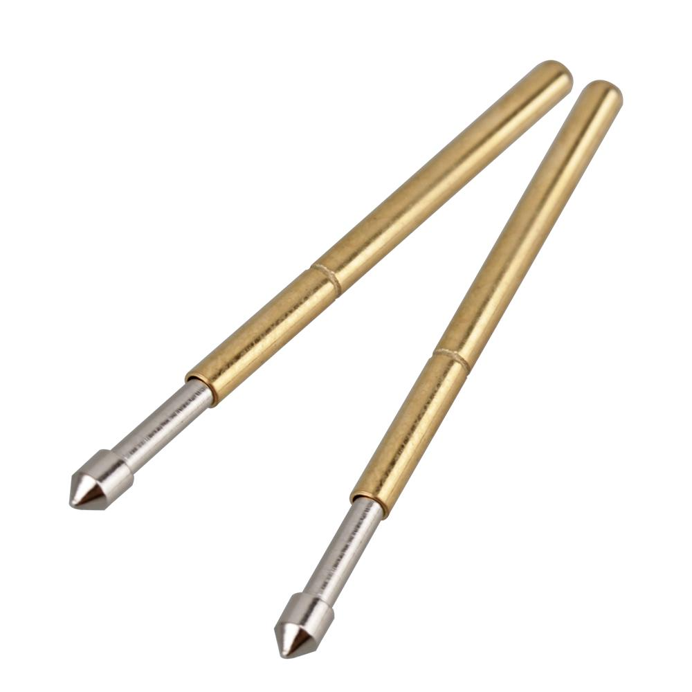 100pcs 1.36mm Cone Tip P160-E2 Spring PCB Testing Contact Probes Pin