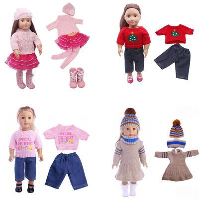 Mode Pyjamas Puppe Kleidung passt 18\