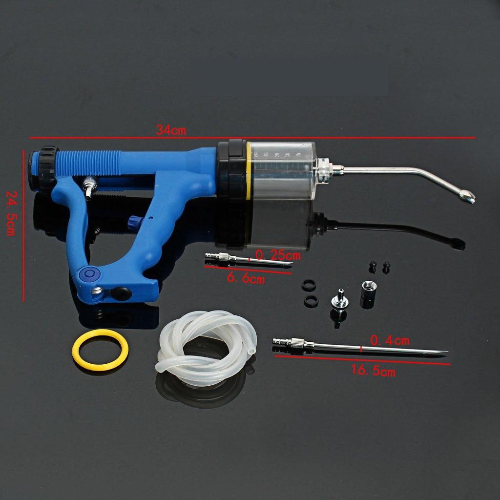 Cattle Sheep Goats Oral /& Pour on Animal Husbandry Continuous Drench Gun