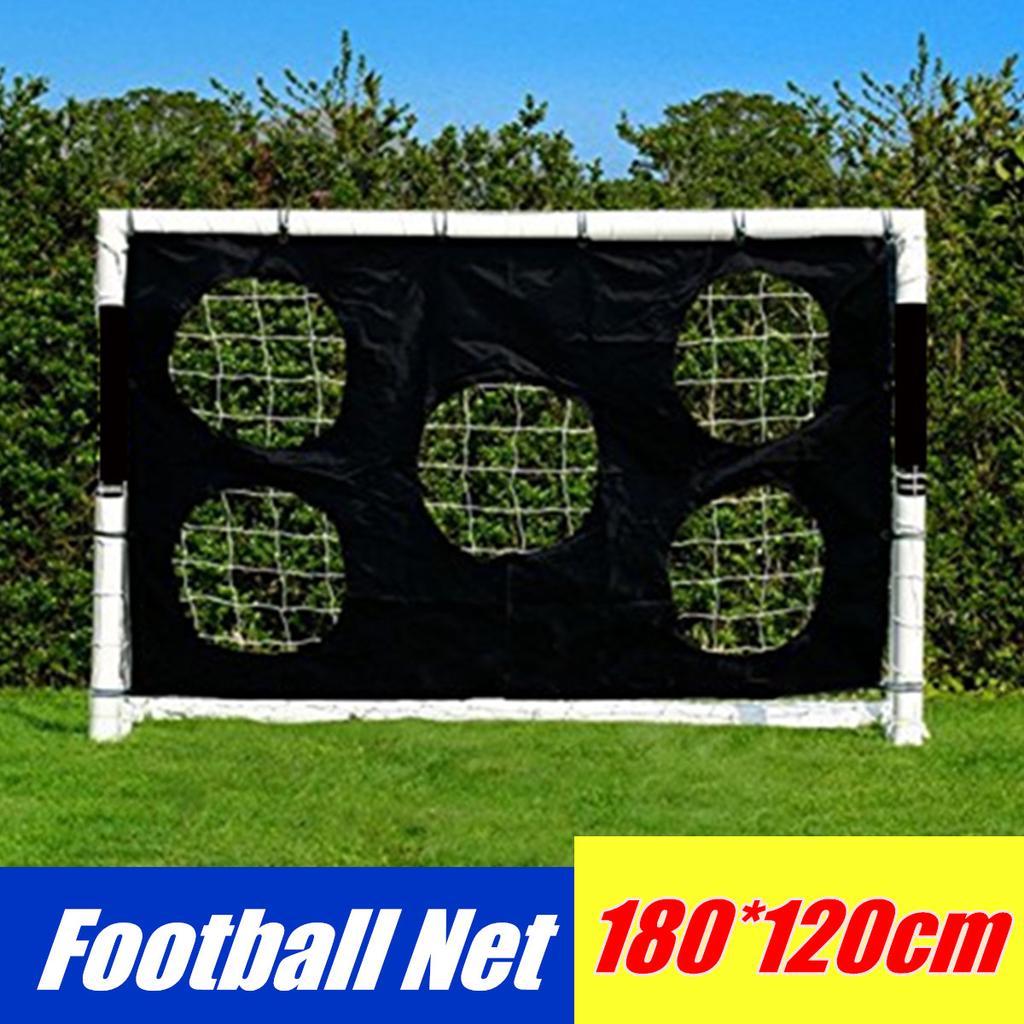 Quality 10FT x 6.5 Football Soccer Goal Post Nets 3x2M For Training Practise