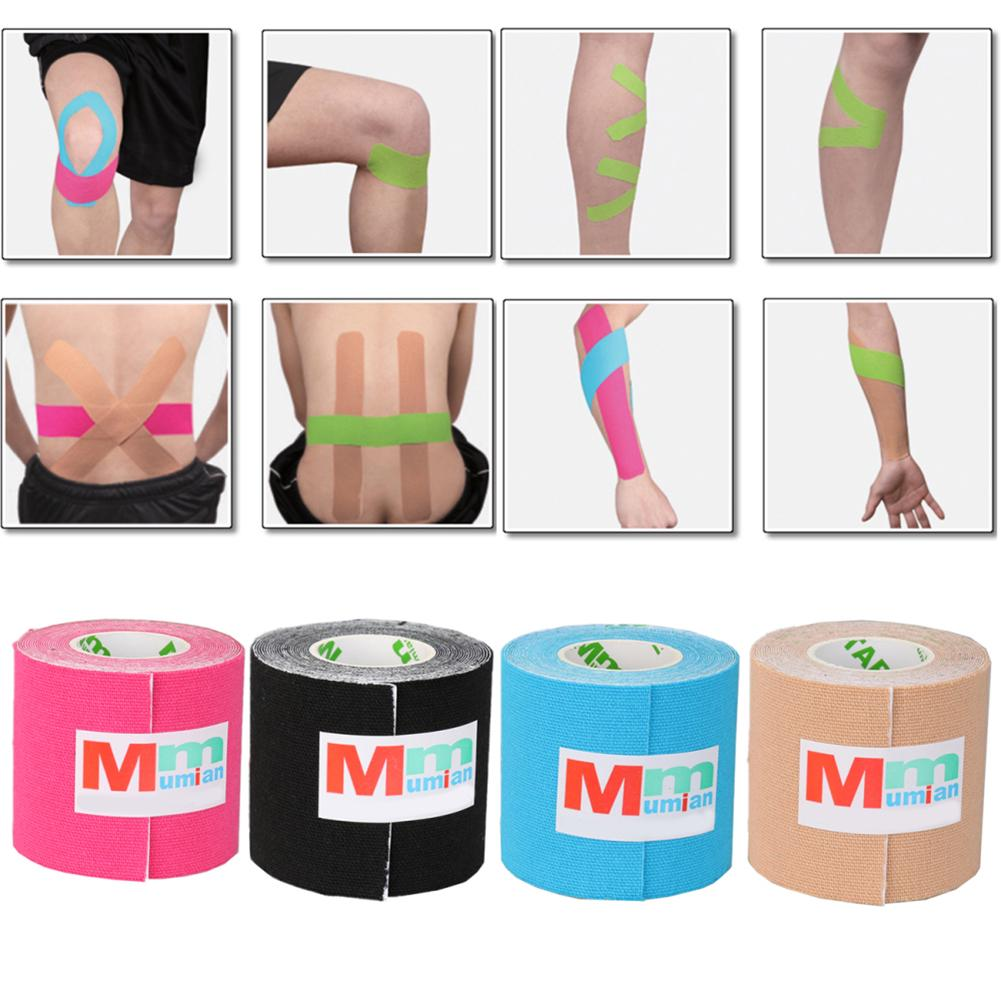 5M*5CM Kinesiologie Tape Physio Band Belastung Verletzung Muskel Unterstützung