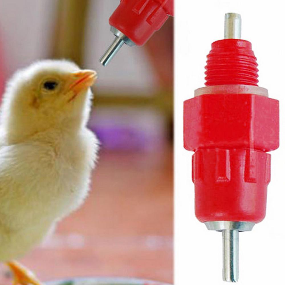 Poultry Water Feeder-10 PCS Pollame Acqua Potabile Tazze bevitore Alimentatore per Bestiame Pollo Gallina