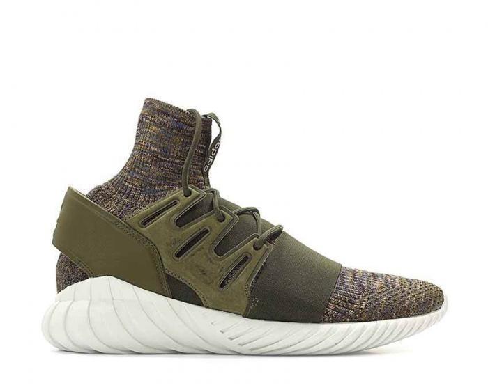 Adidas Tubular Doom Pk, Men's Sports Shoes Green Multicolored (olitra Marmis Balcri), 48 23 Eu