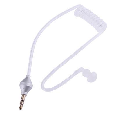 34e5494e199 Monaural 3.5mm Headphone Air Tube Anti-radiation Earphone Stereo Headset