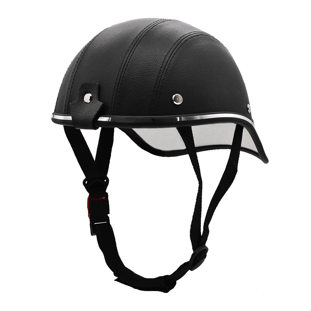 Motorcycle Half Helmet Baseball Cap MTB Cycling Roller Scooter Safety Hard Hat