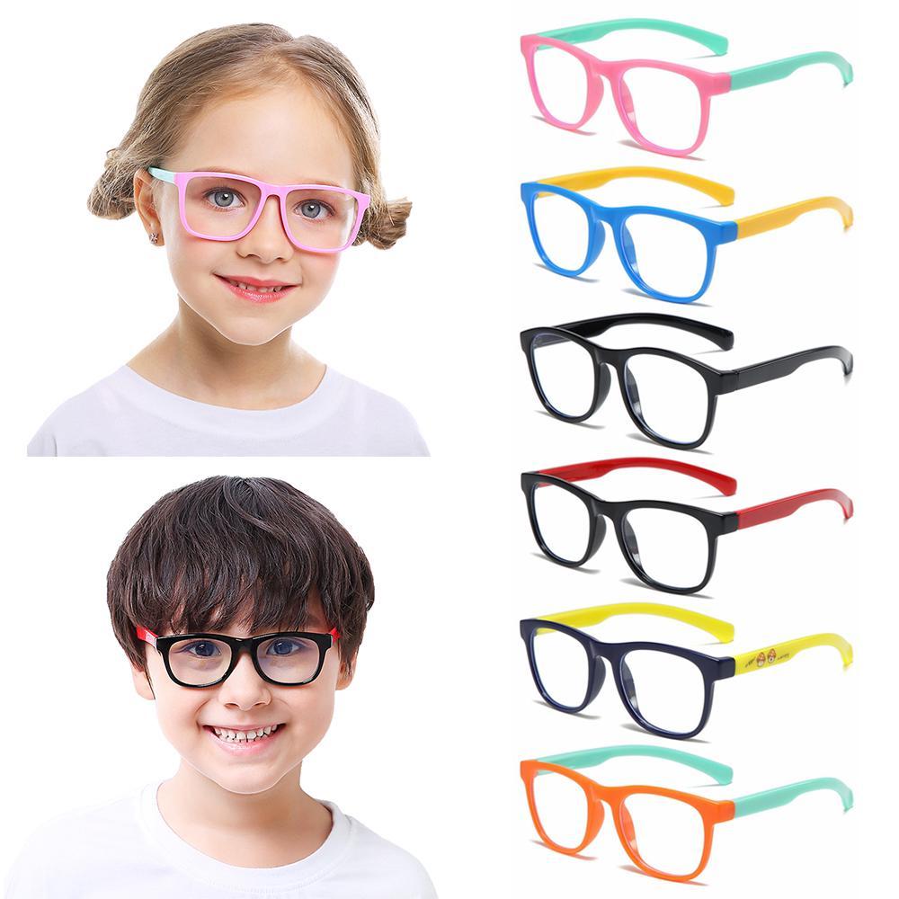 Flower Kids Sunglasse Children Sunglasse Radiation Protection Round Sunglasses