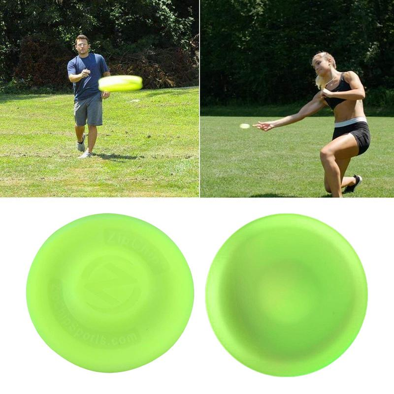 NJSTAR Zip Chip Frisbee Mini Pocket Flexible Nuevo Spin Catching Game Flying Disc ZipChip