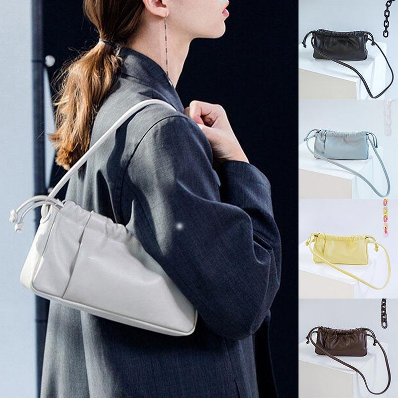 Women Shoulder Bag Leather Clutch Chain Handbag Tote Purse Messenger Bag ONE