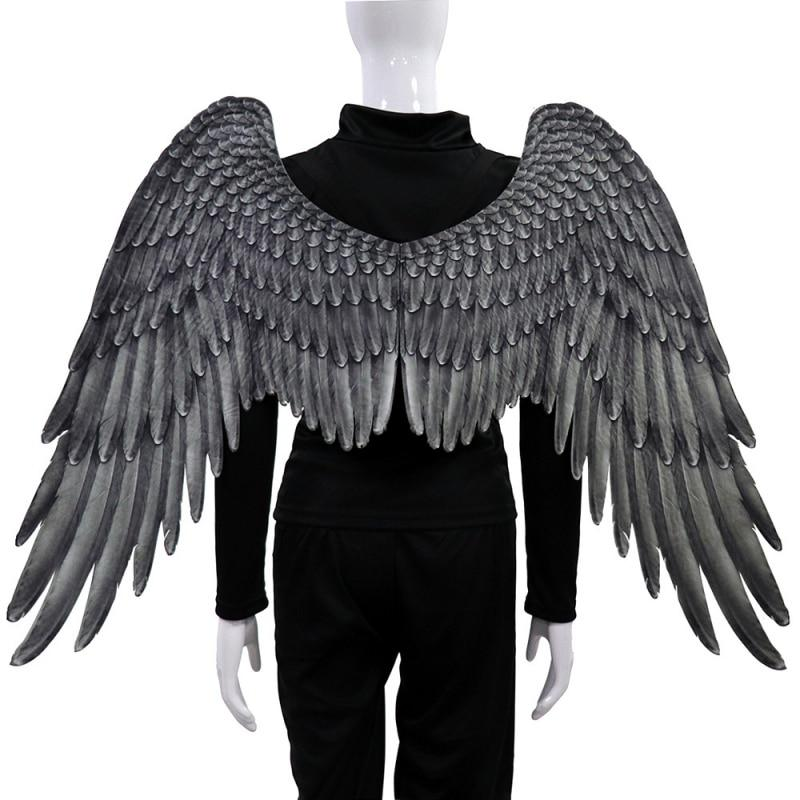 Unisex Large Adult Rainbow Angel Wings Party Costume Props Mardi Gras Cosplay