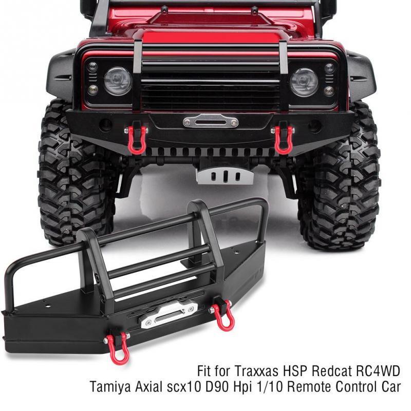 Alloy CNC Front /& Rear Plate Bumper Mount For 1//10 Axial SCX10 D90 RC4WD RC Car