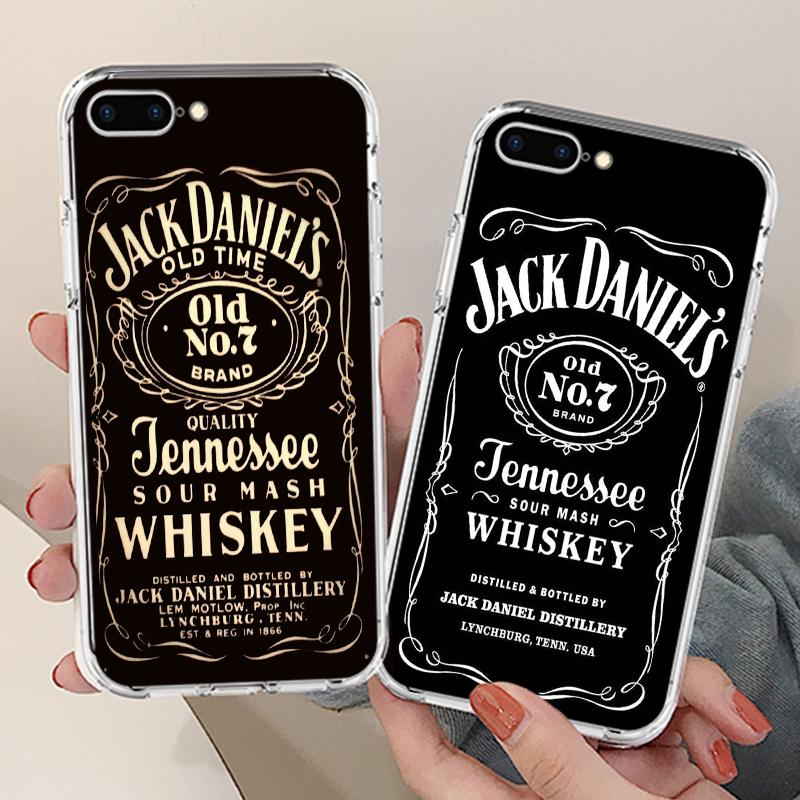 Jack Daniel's Whiskey Silicone Phone Case Cover Case for Apple iPhone 6 7 X XR XS Max 5 8 Plus 4s-buy at a low prices on Joom e-commerce platform