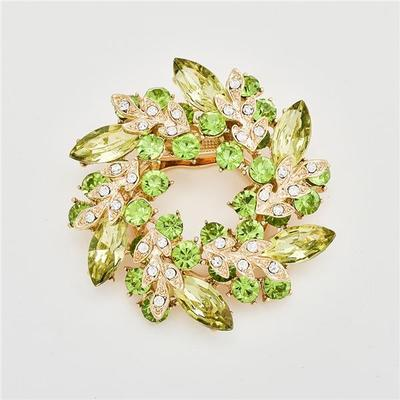 Jewelry Fancy Vintage Rhinestone Bling Crystal Bauhinia