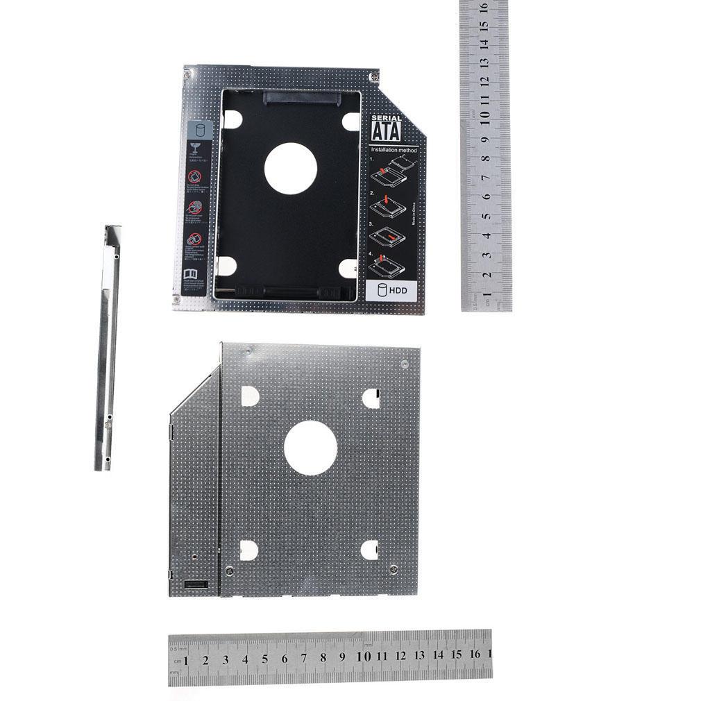2nd Hard Drive HDD SSD Caddy DVD For Lenovo ThinkPad E555 E550 E560 UJ273