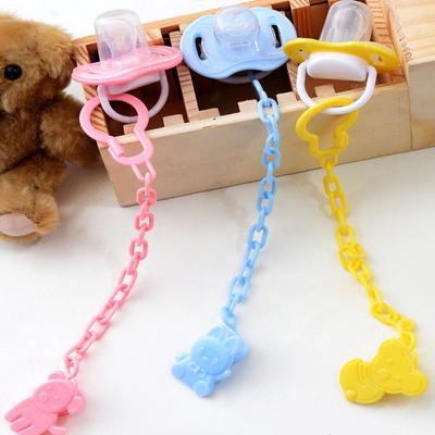 Fashionable Clip Buckle Holder Toy Chain Nipple Soother Pacifier Dummy Baby