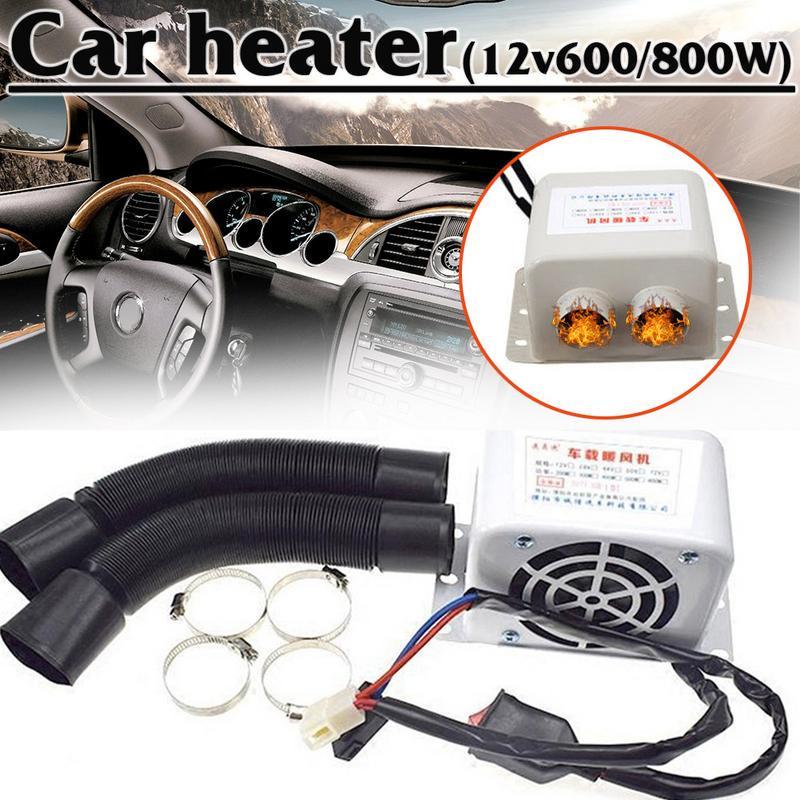 4 Ports Car Truck Under Dash Heater Copper Warmer Window Defroster Demister 12V