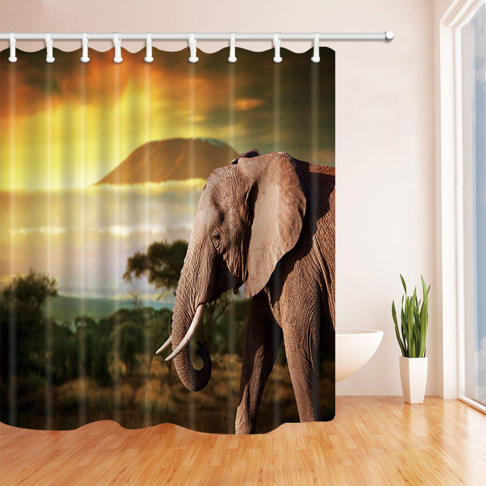 165x180cm At A Low S On Joom, African Safari Bathroom Decor