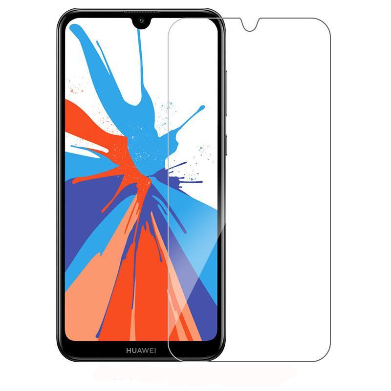 Защитное стекло на для Huawei Y7 Pro 2019 Безопасности стекла 9H 2.5D Телефон Фронт фильм