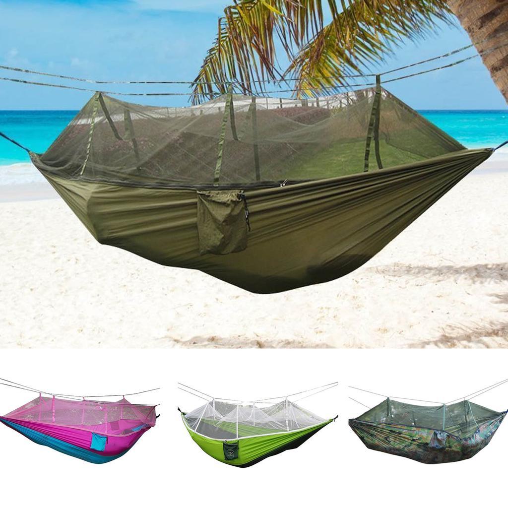 84ca931dd Hamaca que acampa al aire libre colgando tienda Bedwith Mosquito Net ...