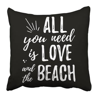 Brush Lettering You Are My Sunshine Uppercase Letters Hand Drawing Light On Black Pillowcase 20x20inch 50x50cm Buy At A Low Prices On Joom E Commerce Platform