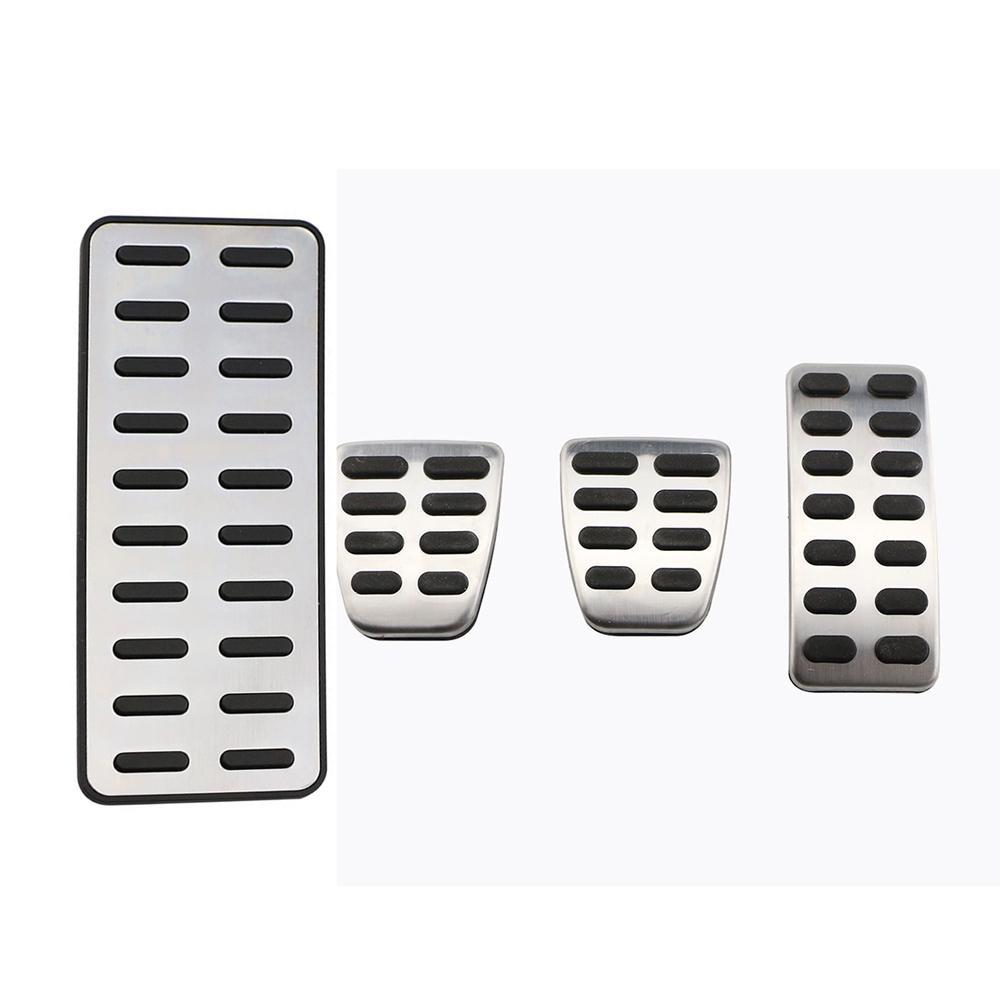 Aluminium Brake Foot Rest Pedals Interior For Hyundai Verna Manual