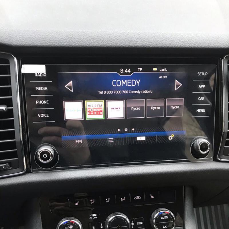 11.5 inch GPS Navigation Glass Screen Protector For Skoda Kodiaq Karoq 2017-2018