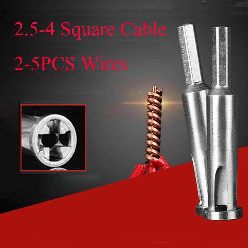 Инструмент для скручивания и зачистки 4-5 жильного кабеля/провода, сечением 2.5-4 квадратных миллиметра фото