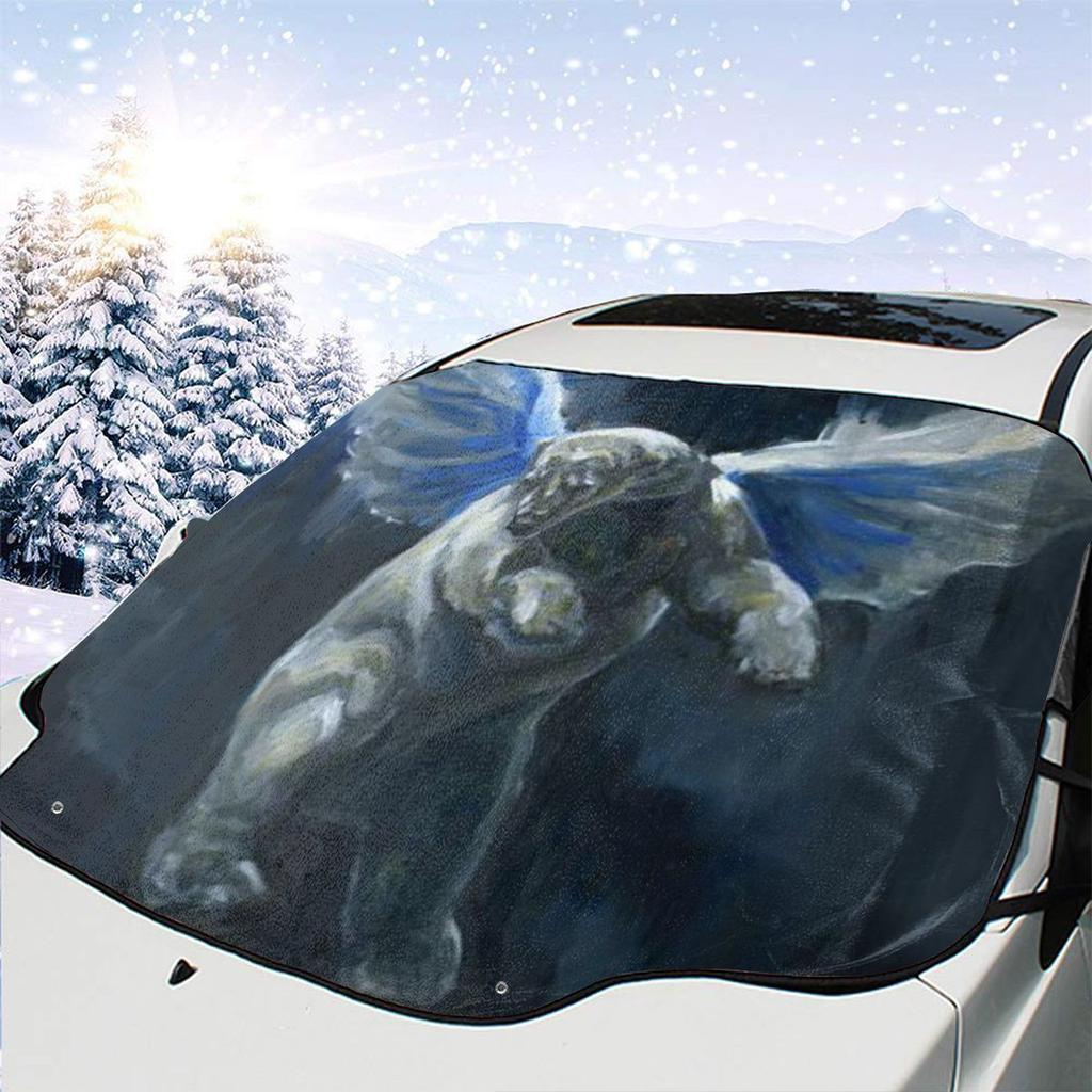 CaRSun Windscreen Cover Winter Snow Rain Frost Guard Automotive Ice Screen Cover Fit most Car and SUVs