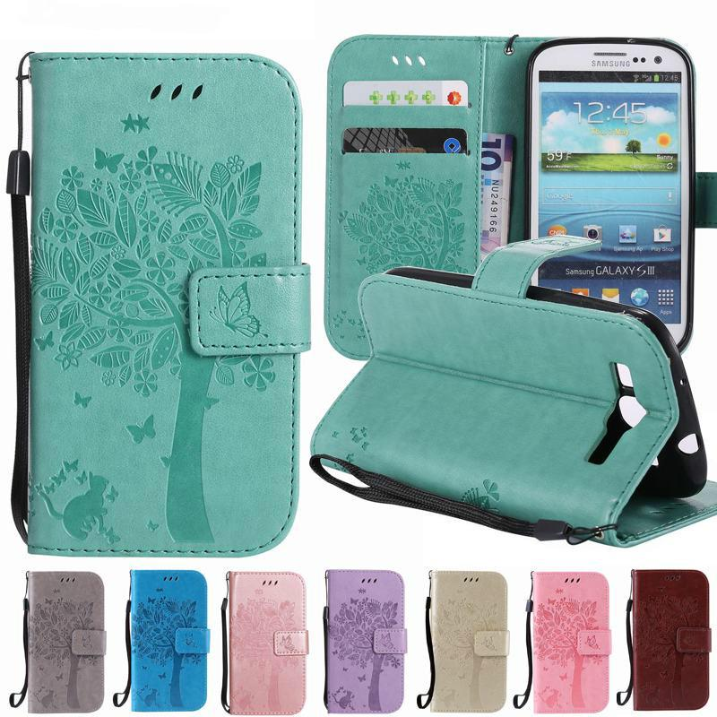 Leather Case For Samsung Galaxy S3 Neo Case Wallet Flip Cover Phone Case Samsung Galaxy S3 Cover Case I9300 I9301 Coque Capas Buy At A Low Prices On Joom E Commerce Platform